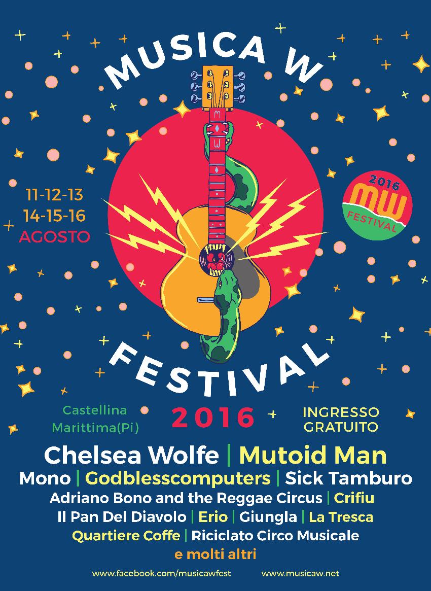 Musica W 2016 - Manifesto